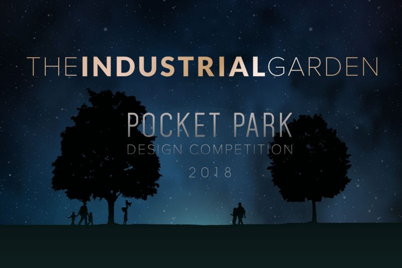 The Industrial Garden Pocket Park Design Competition by SVC Products