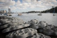 Living Seawalls concrete modules by SVC Urban