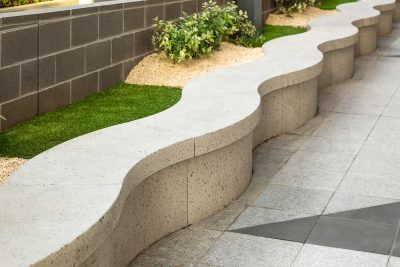 SVC Products | Precast concrete seat modules at Quest Pacific Epping.