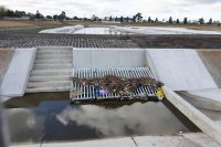 SVC Civil | Custom drainage pit and pipe grille for Upper Stony Creek Transformation